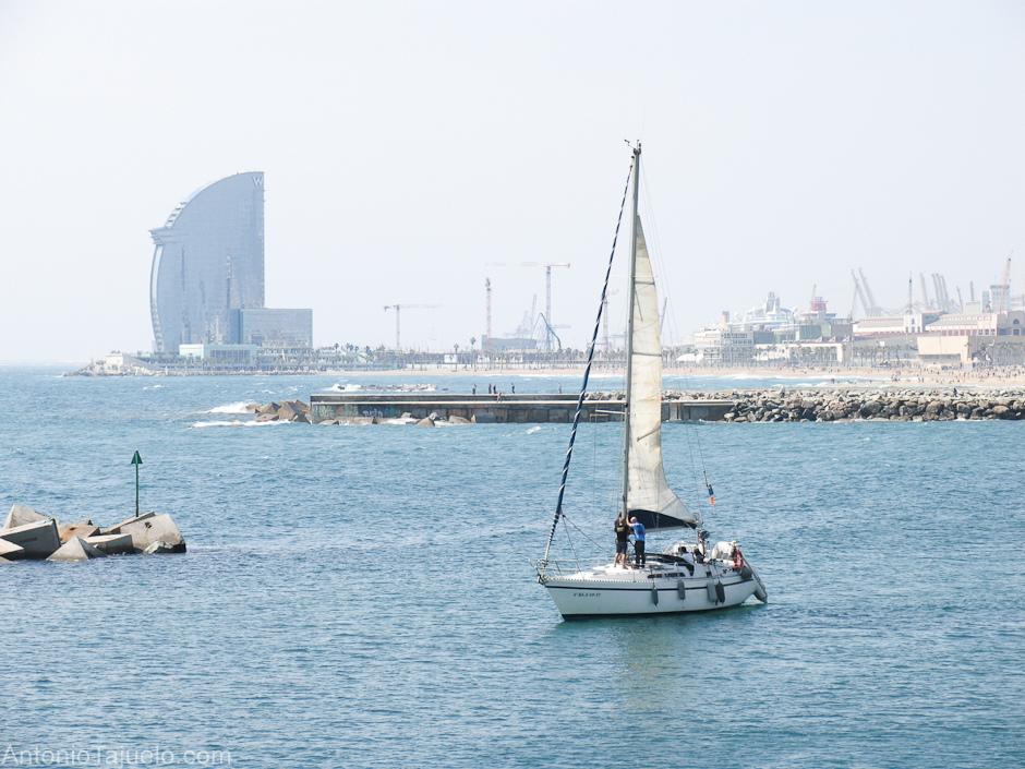 Puerto olímpico Barcelona