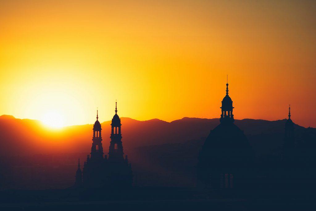 amaneceres en Barcelona